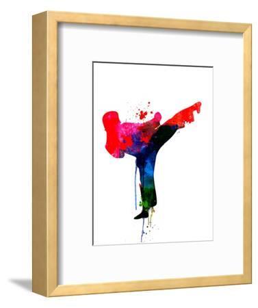 Karate Kid Watercolor