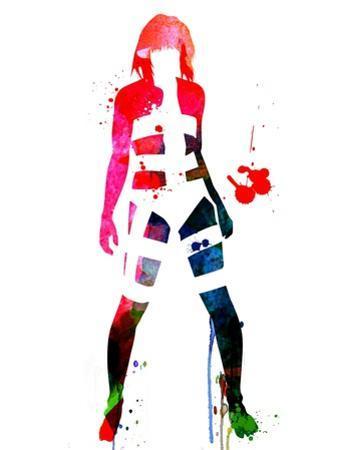 Leeloo Watercolor by Lora Feldman