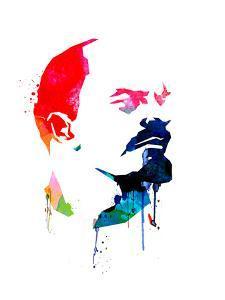 Lenin Watercolor by Lora Feldman