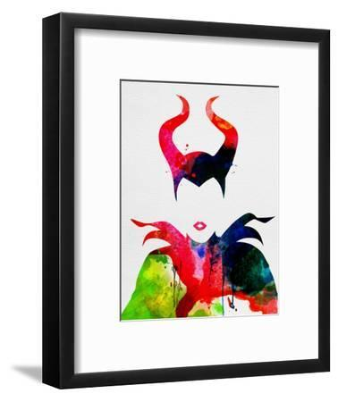 Maleficent Watercolor