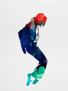 Michael Watercolor by Lora Feldman