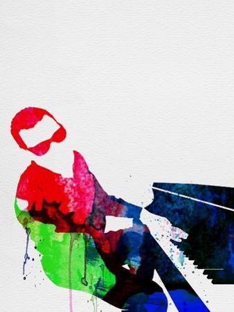 Ray Watercolor by Lora Feldman
