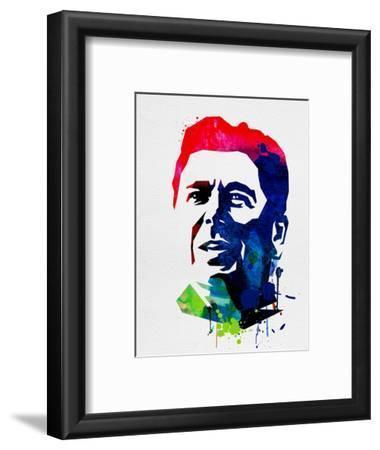 Ronald Reagan Watercolor