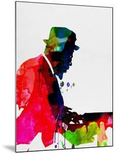 Thelonious Watercolor by Lora Feldman