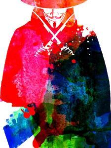 Vendetta Watercolor by Lora Feldman