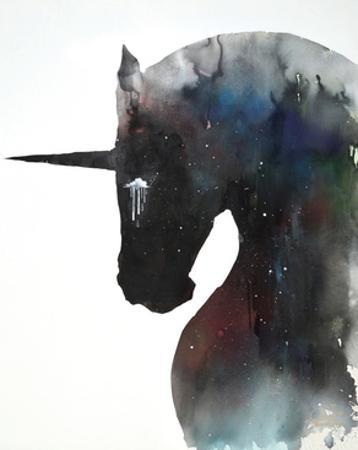 Dark Unicorn Full of Infinite Space