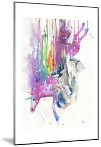 Falling Caused by Unicorn by Lora Zombie