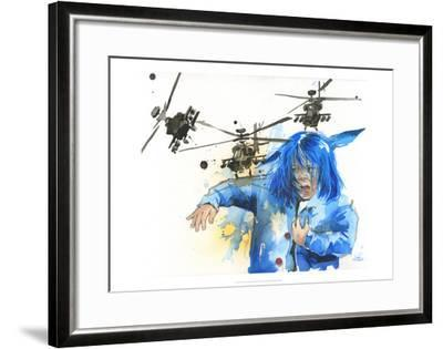 Girl and Helicopters