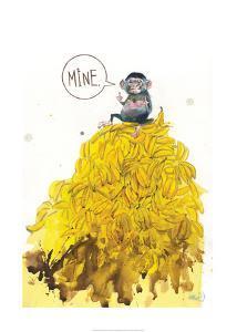 Greedy Monkey by Lora Zombie