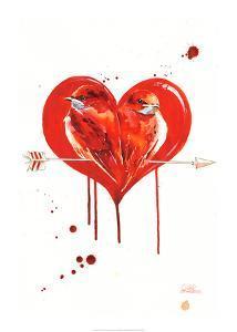 Love Birds by Lora Zombie