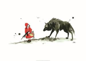 Red Riding Hood by Lora Zombie
