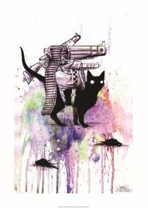 Super Cat by Lora Zombie
