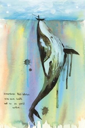 Whale-a-la by Lora Zombie