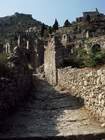 Mystra, Sparta, Peloponnese, Greece