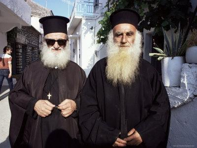 Orthodox Priests, Parga, Greece