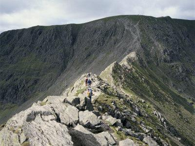 Paterdale, Striding Edge, Helvellyn, Lake District National Park, Cumbria, England