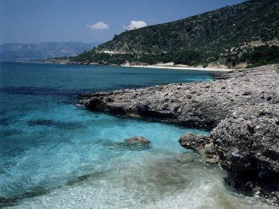 Psili Ammos Beach, Island of Samos, Greek Islands, Greece