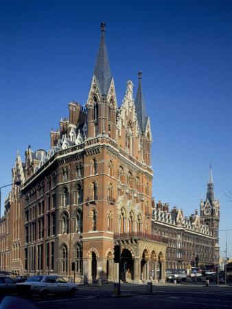 St. Pancras Railway Station, London, England, United Kingdom