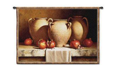 Urns with Persimmons