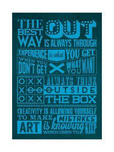 Creative Set Blue by Lorand Okos