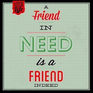 Friend Indeed 1 by Lorand Okos