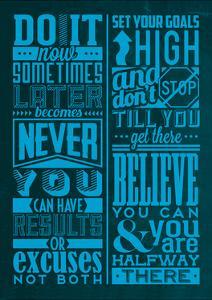 Motivation Set Blue by Lorand Okos