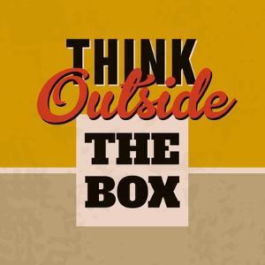 Think Outside the Box 1 by Lorand Okos