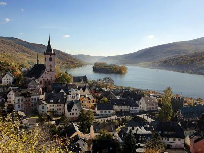 Lorch, Rhine Valley, Hesse, Germany, Europe-Hans Peter Merten-Photographic Print