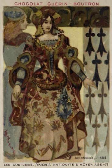Lord and Lady, 1495--Giclee Print