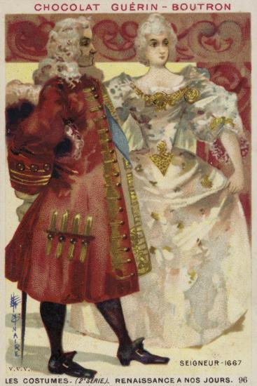 Lord and Lady, 1667--Giclee Print