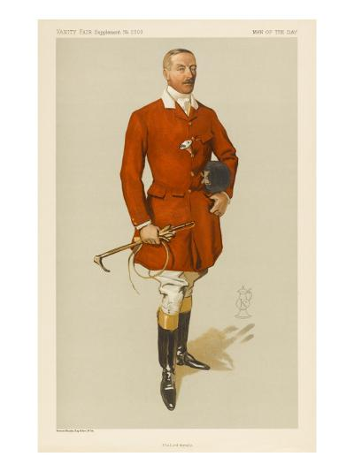 Lord Annesley, Master of Hounds--Giclee Print