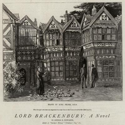 Lord Brackenbury, a Novel-Sir Samuel Luke Fildes-Giclee Print