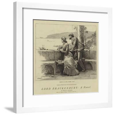 Lord Brackenbury, a Novel-Sir Samuel Luke Fildes-Framed Giclee Print