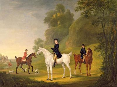 Lord Bulkeley and His Harriers, His Huntsman John Wells and Whipper-In R. Jennings, 1773-Francis Sartorius-Giclee Print