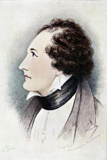 Lord Byron, Anglo-Scottish Poet, Early 19th Century-Ernest Lloyd-Giclee Print