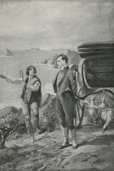Lord Byron Goes Out for a Ride--Giclee Print