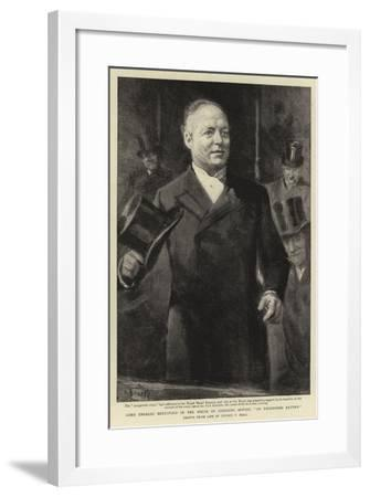 Lord Charles Beresford in the House of Commons Moving An Unopposed Return-Sydney Prior Hall-Framed Giclee Print