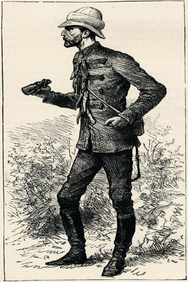Lord Chelmsford, British Soldier, 1896--Giclee Print