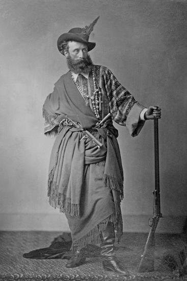 Lord Clonbrook in Theatrical Costume, C.1865-Augusta Crofton-Giclee Print