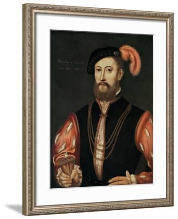 Lord Darnley (1545-156), 1567--Framed Giclee Print