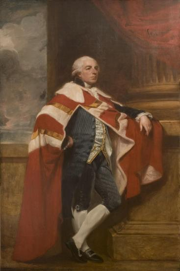 Lord Ducie, 1792-George Romney-Giclee Print