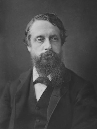 Lord Frederick Cavendish, C.1880--Photographic Print