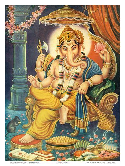 Lord Ganesha--Art Print