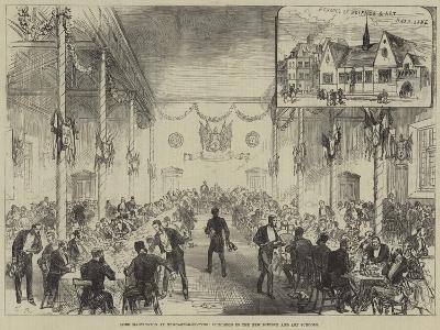 Lord Hartington at Newcastle-On-Tyne, Luncheon in the New Science and Art Schools--Giclee Print