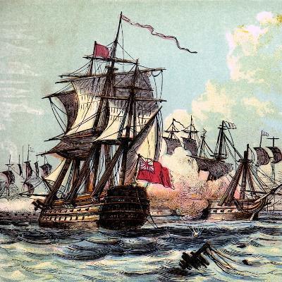 Lord Howe's Victory, 1794--Giclee Print