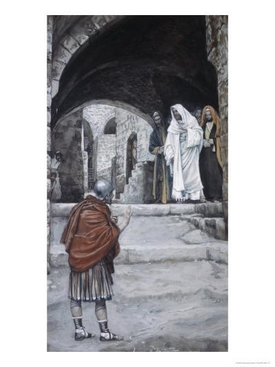 Lord, I Am Not Worthy-James Tissot-Giclee Print