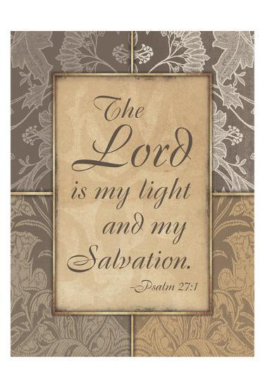 Lord Is My Light V2-Jace Grey-Art Print