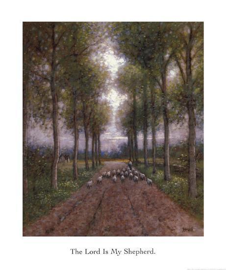 Lord is My Shepherd-Jon McNaughton-Art Print
