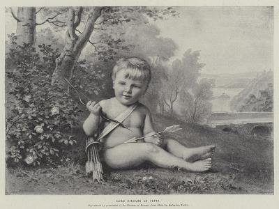 Lord Kildare as Cupid--Giclee Print