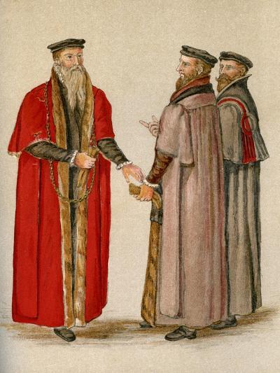 Lord Mayor and Aldermen--Giclee Print
